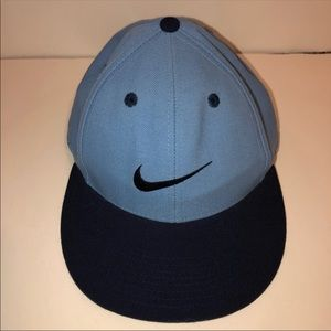 Nike Classic Fitted Flat Brim Hat 7 3/8